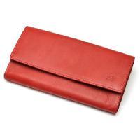 アミティエ AMT-703 レディース長財布 / レッド (HY)|softya