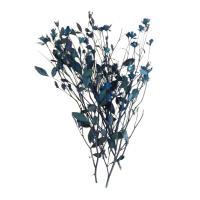 ドライフラワー 花材 リトルローズ・シリカ ブリリアントブルー 約10輪 そらプリ