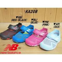 ▼商品名♪NEW BALANCE ニューバランス KA208 rbi(BLACK) bli(BLUE...