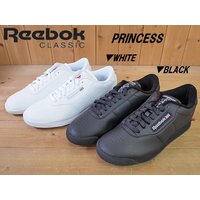 Reebok CLASSIC PRINCESS WOMENS ホワイト(J95362)ブラック(J95361)リーボック クラッシック プリンセス レディースローカットスニーカー