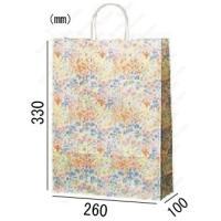 紙袋 手提げ袋 コロン 丸紐 HA-4 200枚 26×10×33cm 業務用まとめ買い|solouno