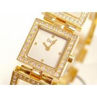 D&G TIMEの超人気のDAY&NIGHT レディースゴールドSSベルト時計。D&...