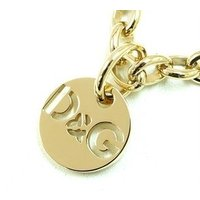 D&Gのロゴゴールドネックレス。<BR> ◆商品詳細◆<BR> ◇素材:ステ...