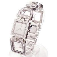 D&G TIMEの超人気のNIGHT&DAY レディースSSベルト時計。D&...