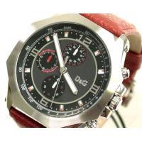 D&G TIMEの超人気の最新モデルGOOSEクロノグラフ時計。人気のブラックフェイス!! ...