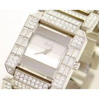 D&G TIMEの超人気のCOMANCHE レディースSSベルト時計。D&Gのロゴ入...