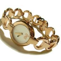 D&G TIMEの人気のPATTERN レディースSSベルト腕時計。ブレスレット感覚で着けら...