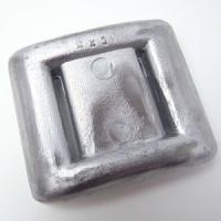 鉛製のウエイトです。 大きさ:約8.5×10(cm)   【 スキューバ スクーバ マリン用品 潜水...
