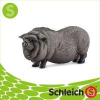 Schleich シュライヒ社フィギュア 13747 ポットベリードピッグ Pot bellied pig|soprano|02