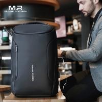 MARK RYDEN バックパック 完全防水 ビジネスリュック メンズ用 30L大容量 盗難防止ラップトップバッグ17インチパソコン対応 黒