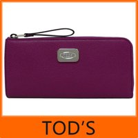 TOD'S トッズ D-STYLING tods L字ファスナー 長財布 じゃばら  □■商品の詳細...