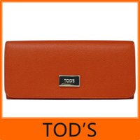 TOD'S トッズ TODS 二つ折り 長財布  □■商品の詳細■□   カラー ■コーラル:ダーク...