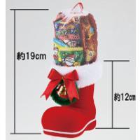 クリスマスブーツ(中)お菓子入     ご注文は、50個以上でお願いします  ●セット内容-スナック...