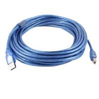uxcell 10M USB 2.0 Aオス- B オス PCプリンタ機能 拡張ケーブル データワイヤ ブルー