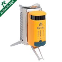 【この商品は外部倉庫発送品です】 たき火で発生した熱を電気に変換してファンをまわし、燃焼効率を上げる...