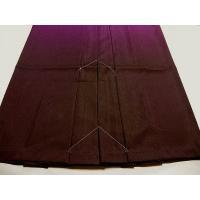 仕立て上がり 袴 はかま ぼかし  女性用 紫 S・M・Lサイズ おび工房