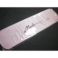 帯板は、帯の前にシワがよって見苦しくならないように張りを持たせるためにします。  薄ピンク色でつやや...