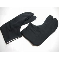【東レ ハイ・ストレッチタビ】5枚こはぜ付き 黒  ★柔らかく伸縮性に富んでいます。暖かくで丈夫です...