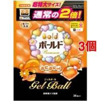 (アウトレット)ボールド ぷにぷにっとジェルボール スプラッシュサンシャイン 詰替え用 特大 ( 36コ入*3コセット )/ ボールド