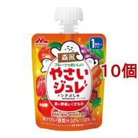 フルーツでおいしいやさいジュレ 赤い野菜とくだもの ( 70g*10コセット )