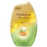 お部屋の消臭力 プレミアムアロマ   スイートオレンジ&ベルガモットの香り ( 400mL )/ 消臭力