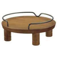 リッチェル ペット用木製テーブル シングル ブラウン ( 1コ入 )