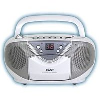 ☆送料無料☆/AM/FMステレオCDラジカセ CD-39-W(EAST AM/FMステレオCDラジカ...