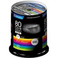 ★税抜2500円以上で送料無料★/バーベイタム CD-R オーディオ 80分 100枚 MUR80F...