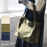 商品名:キャンバス多収納ポケットトートバッグ  発売以来大人気の「多収納ポケットトートバッグ」と同じ...