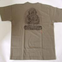 和柄 tシャツ 倭人 半袖 Tシャツ 大日如来 M L LL 3L|sousakuzakka-koto|03