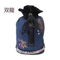 和柄 リュック 和柄バッグ リュックサック [バッグ]2way 鶴虎 双龍 鯉 刺繍 帆布バッグ|sousakuzakka-koto|13