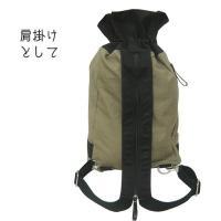和柄 リュック 和柄バッグ リュックサック [バッグ]2way 鶴虎 双龍 鯉 刺繍 帆布バッグ|sousakuzakka-koto|18