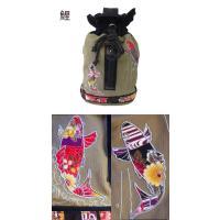 和柄 リュック 和柄バッグ リュックサック [バッグ]2way 鶴虎 双龍 鯉 刺繍 帆布バッグ|sousakuzakka-koto|04