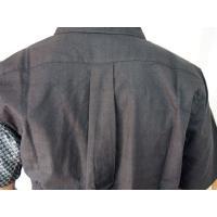 父の日 半袖シャツ 和柄シャツ 市松模様 切り替え 衣櫻 和柄 和風 日本製 国産 SA1209 M L XL XXL|sousakuzakka-koto|08