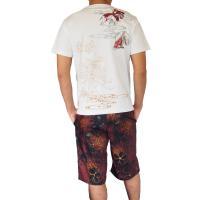 和柄Tシャツ と ハーフパンツ、巾着の3点セット 絡繰魂 金魚刺繍旅のSET UP sousakuzakka-koto 13