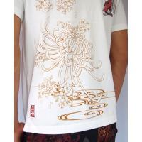 和柄Tシャツ と ハーフパンツ、巾着の3点セット 絡繰魂 金魚刺繍旅のSET UP sousakuzakka-koto 17