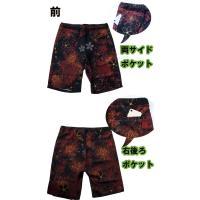 和柄Tシャツ と ハーフパンツ、巾着の3点セット 絡繰魂 金魚刺繍旅のSET UP sousakuzakka-koto 19