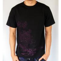 和柄Tシャツ と ハーフパンツ、巾着の3点セット 絡繰魂 金魚刺繍旅のSET UP sousakuzakka-koto 04