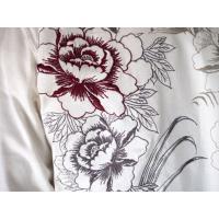和柄tシャツ 【絡繰魂】生け花 ヘンリーネックTシャツ ロンT 刺繍 メンズ 黒 白|sousakuzakka-koto|16