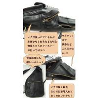 和柄 バッグ ボディ バッグ  body bag 牛革 衣櫻 ころもざくら 鞄 黒 茶色|sousakuzakka-koto|05