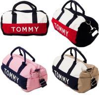 【TOMMY HILFIGER】ミニボストンバッグ☆  ちょうどいいサイズの人気バッグです。 手持ち...