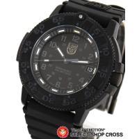 ルミノックス LUMINOX ネイビーシール アナログ メンズ 腕時計 3001 BLACKOUT ...