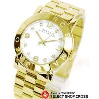 マーク バイ マークジェイコブス Amy アミー レディース 腕時計 MBM3056 ホワイト/ゴー...