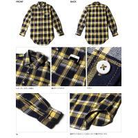 シャツ/カジュアルシャツ/トップス/メンズファッション/通販/ビエラチェック レギュラーカラー 長袖 ロングシャツ メンズ トレンド