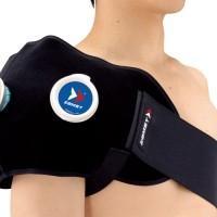 ★肩や腰の冷却・圧迫に適したアイシング用ラップ。  ★指通し穴がついているので、一人でも装着できます...