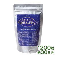 スピルリナDHA & EPA 1200粒 サプリメント
