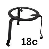 火鉢の中に入れて、やかんや急須や鍋を乗せるのに使用します。 材質 鉄(ブロンズ風仕上げ) サイズ 上...