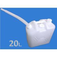 大型水入れ缶20Lです。ノズル付き。キャップ付き 材質 ポリエチレン 耐熱温度 70℃ サイズ 33...