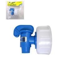 千曲化成の水入れポリタンク(20L、10L、5L)用の共通コック(蛇口)です。他メーカーの商品にも合...
