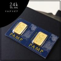 純金バーコイン1g。スイスパンプの美しい絵柄の純金コインです。24金のゴールド。 ギリシア神話コルヌ...